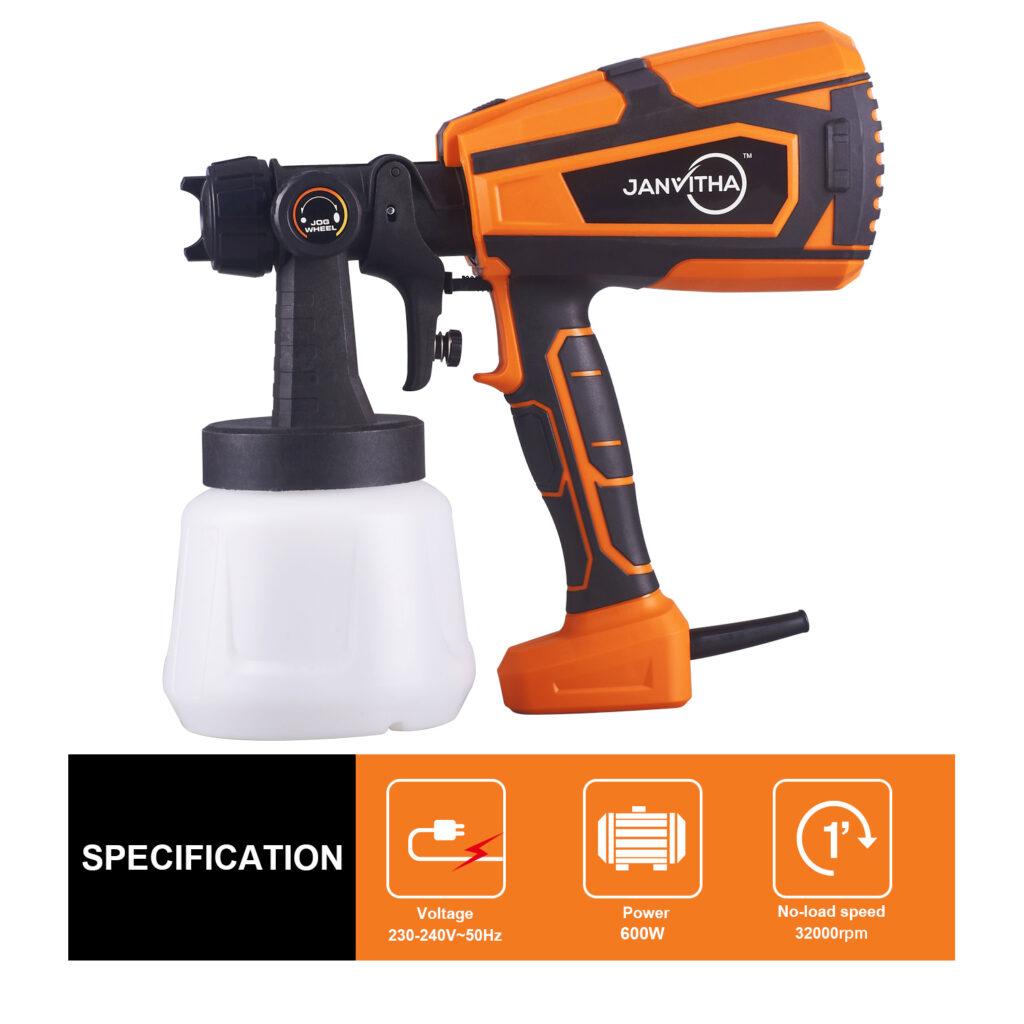 Janvitha 600W Paint Sprayer Elite Gun